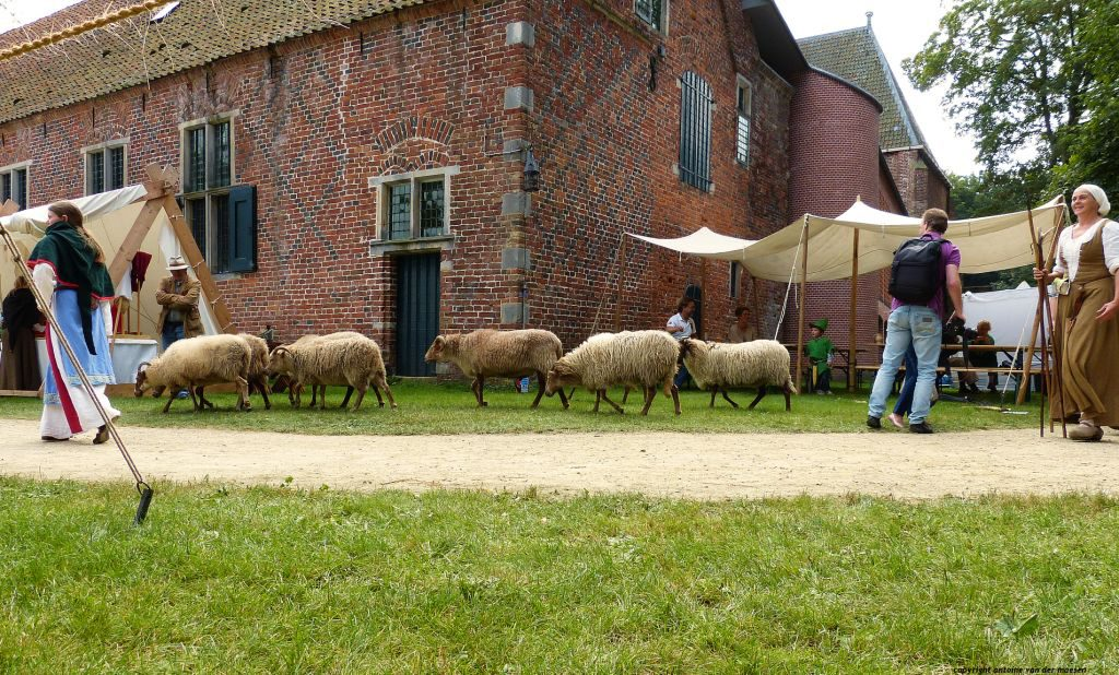 Das Kloster Ter Apel ist während des Mittelalterfestes Ter Apel geöffnet